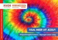 Programmagids 2018-2019 / Nivon Arnhem-Nijmegen en Humanistisch Verbond