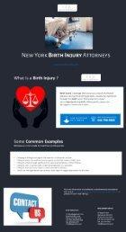 NYC Birth Injury Attorney