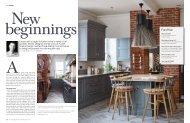 Kitchens, Bedrooms & Bathrooms - Furnish Interior Design article - June