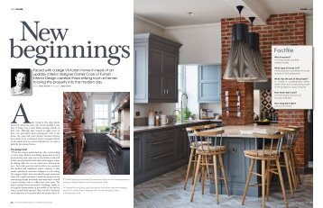 Kitchens, Bedrooms & Bathrooms - Furnish Interior Design article - June