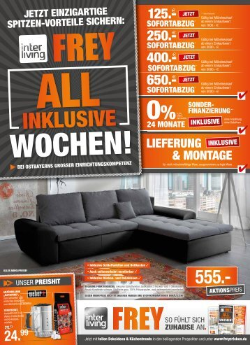 Interliving FREY - All inklusive Wochen Juli Weiden