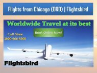 Top 10 low cost Flights from Chicago (ORD) at flightsbird