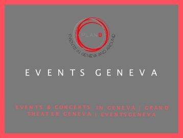 Grand Theatre Geneve | Spectacle Geneve | Theatre Du Leman