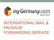 International Mail & Package Forwarding Service