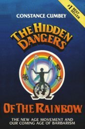 Hidden Dangers of the Rainbow by Constance Cumbey