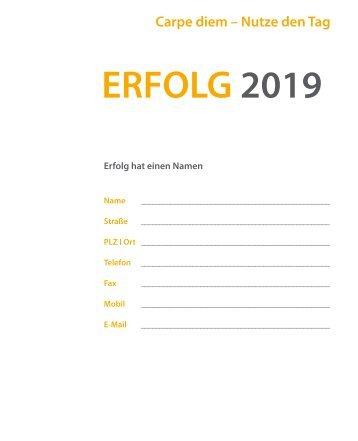 ERFOLG 2019