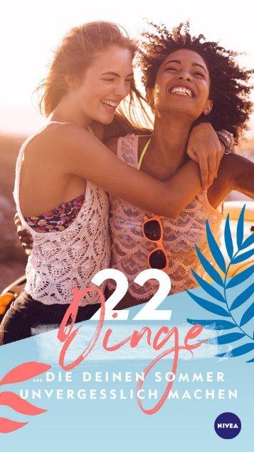 NIVEA Mag – Sommer 2018