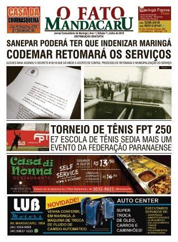 O FATO MANDACARU - JULHO 2018 -NÚMERO 07