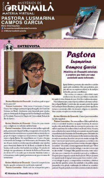 Pastora Lusmarina
