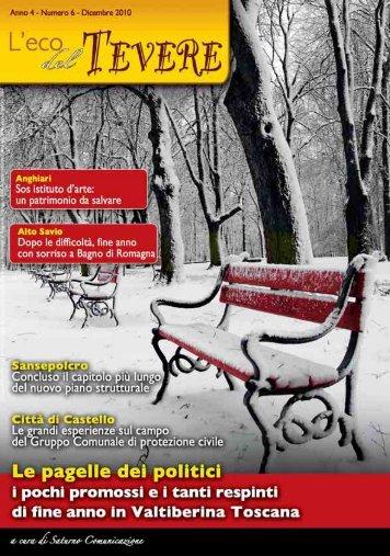 Numero 22 - Dicembre 2010 - Scarica l'edizione in - Saturno Notizie