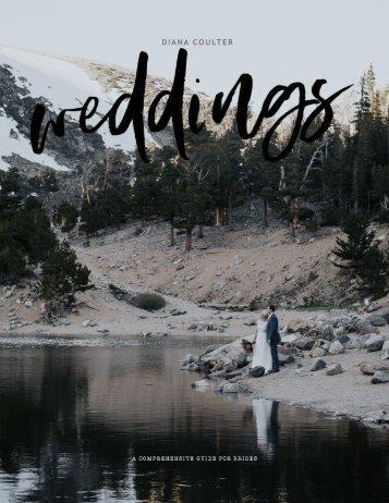 Wedding Photography Bride Guide 2018