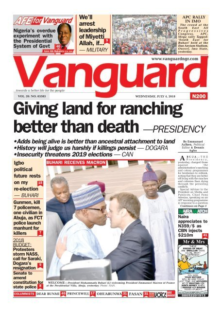 Image result for Nigerians Must Condemn Land Invasion, Kidnapping, Killing, Says Bamidele