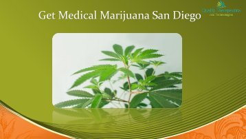 Medical Marijuana in San Diego at Quality Therapeutics