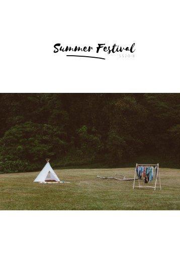 Summer Festival - SS2018