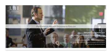 English presentation master program V2