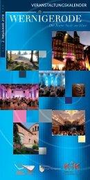 Veranstaltungskalender 2. Halbjahr 2018