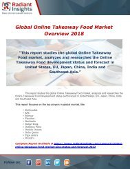 Global Online Takeaway Food Market Status and Forecast 2022