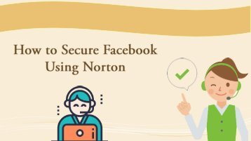 Simply Steps for Secure Facebook Account Using Norton