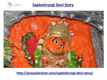 Saptashrungi Devi Story