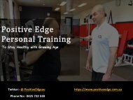 Choose Best Personal Trainer to boost your fitness level in Coburg