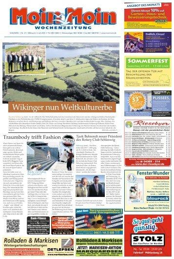 MoinMoin Schleswig 27 2018