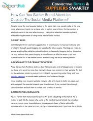 How Can You Gather Brand Attention Outside The Social Media Platform?