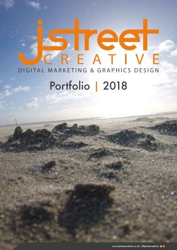 Jstreet Creative - Digital Marketing and Graphics Design Portfolio