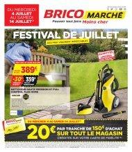 Bricomarche offres 4 juillet-14 juillet 2018