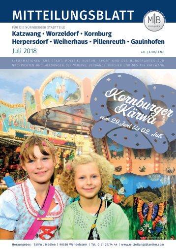 Nürnberg-Worzeldorf/Kornburg/Katzwang - Juli