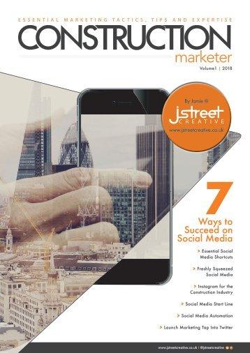 Construction Marketer Volume 1 2018 - Social Media