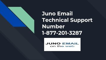 Juno Email Technical Support Number 1-877-201-3287 | Customer Service
