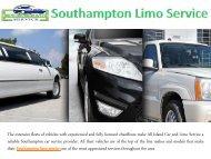 Southampton Limo Service