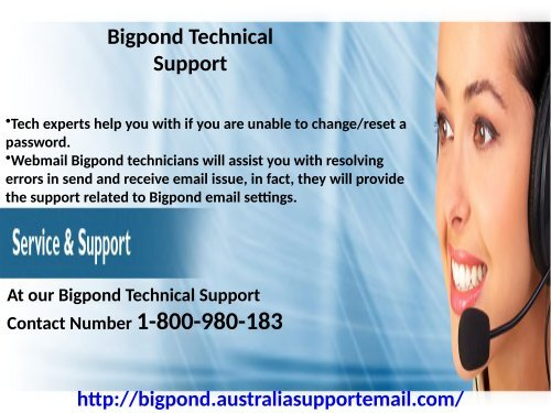 Acquire Solution at Bigpond Technical Support 1-800-980-183|for Forgot Password Issue