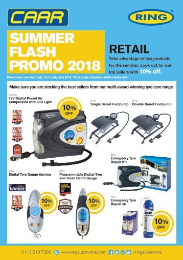11310 RING Summer Flash 4pp A4 RETAIL Promo - CARR LoRes