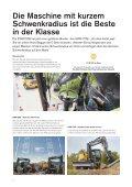 Volvo Kurzheck-Mobilbagger EWR170E - Datenblatt / Produktbeschreibung  - Page 4
