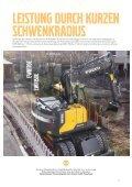 Volvo Kurzheck-Mobilbagger EWR170E - Datenblatt / Produktbeschreibung  - Page 5