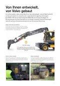 Volvo Kurzheck-Mobilbagger EWR170E - Datenblatt / Produktbeschreibung  - Page 7