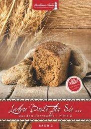 Landhaus-Team: Leckere Brote für Sie ... aus dem Thermomix Band 2