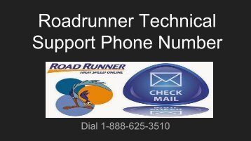 Roadrunner Technical Support Phone Number