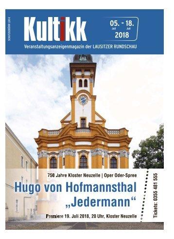 Kultikk 05. – 18. Juli 2018