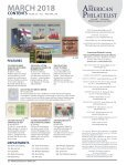 The American Philatelist - March 2018 - Page 2