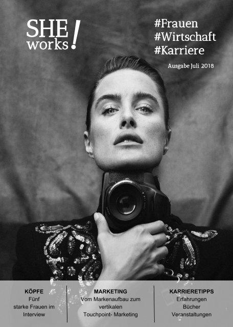 SHE works! Magazin: Marken und Macherinnen