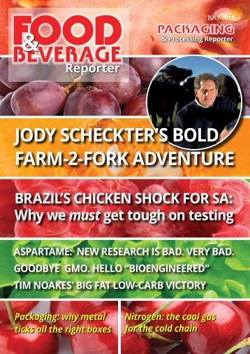 Food & Beverage Reporter July 2018 issue