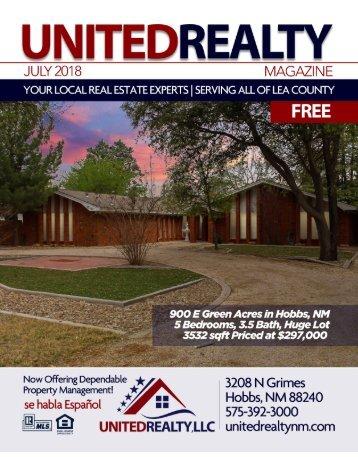 United Realty Magazine July 2018