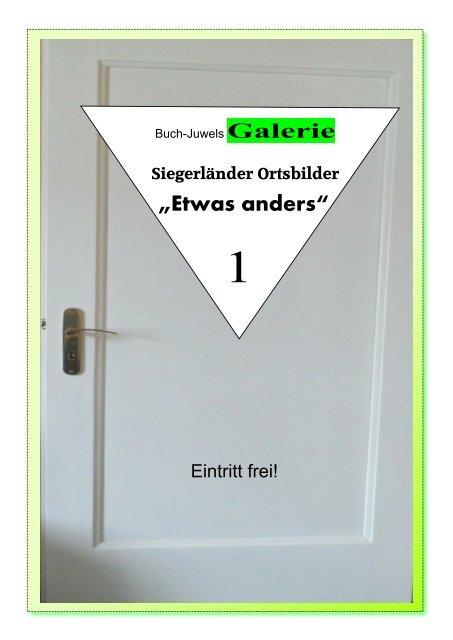 """Siegerland: Buch-Juwels Galerie """"Etwas anders"""" 1"""
