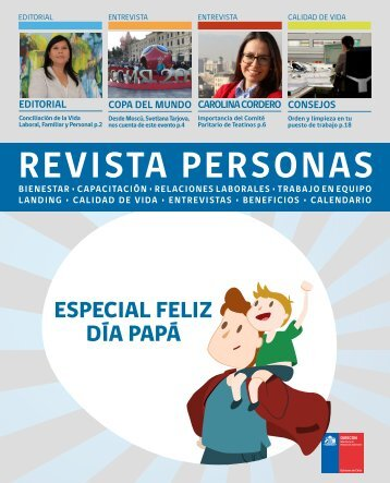 Revista Personas Junio 2018
