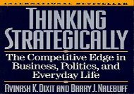 PDF Thinking Strategically: The Competitive Edge in Business, Politics, and Everyday Life (Norton Paperback) | pDf books
