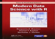 Free Modern Data Science with R (Chapman   Hall/CRC Texts in Statistical Science) | pDf books