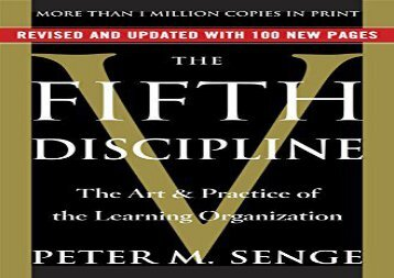 Read The Fifth Discipline: The Art   Practice of the Learning Organization | pDf books