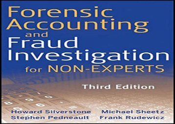 Read Forensic Accounting and Fraud Investigation for Non-Experts | Ebook